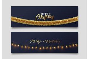 Christmas. Web banners