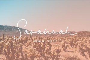 Savannah Signature Font