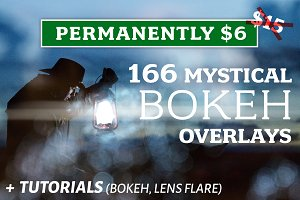 166 Bokeh Overlays +Bonus Tutorials!