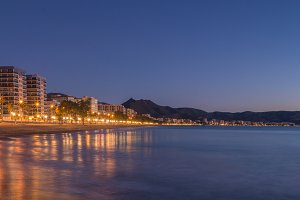 The coast of Benicasim