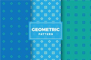 Geometric Vector Patterns #436