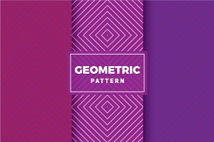Geometric Vector Patterns #428