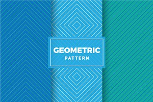 Geometric Vector Patterns #426
