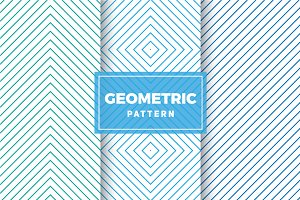 Geometric Vector Patterns #425