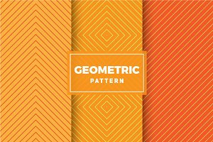 Geometric Vector Patterns #422