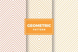 Geometric Vector Patterns #421