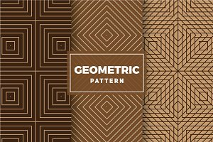 Geometric Vector Patterns #420