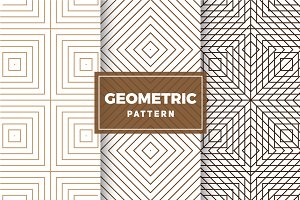 Geometric Vector Patterns #419