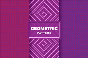 Geometric Vector Patterns #418
