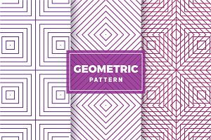 Geometric Vector Patterns #417