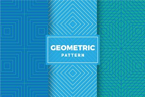 Geometric Vector Patterns #416