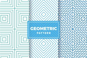 Geometric Vector Patterns #415