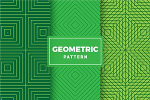 Geometric Vector Patterns #414