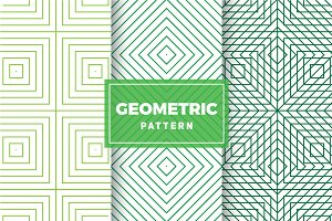 Geometric Vector Patterns #413