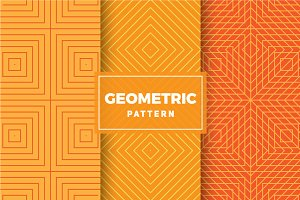 Geometric Vector Patterns #412