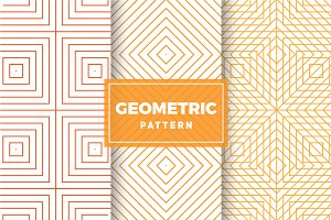 Geometric Vector Patterns #411