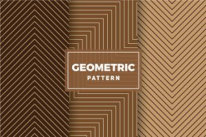 Geometric Vector Patterns #410