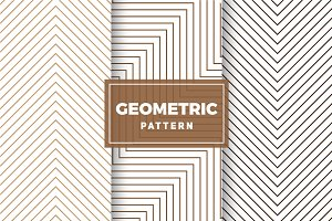 Geometric Vector Patterns #409