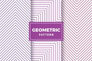 Geometric Vector Patterns #407