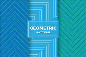 Geometric Vector Patterns #406