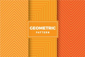 Geometric Vector Patterns #402