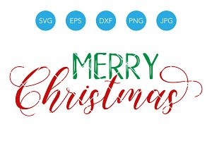 Merry Christmas SVG Files for Cricut