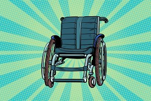 wheelchair, medicine and health, transportation of patients