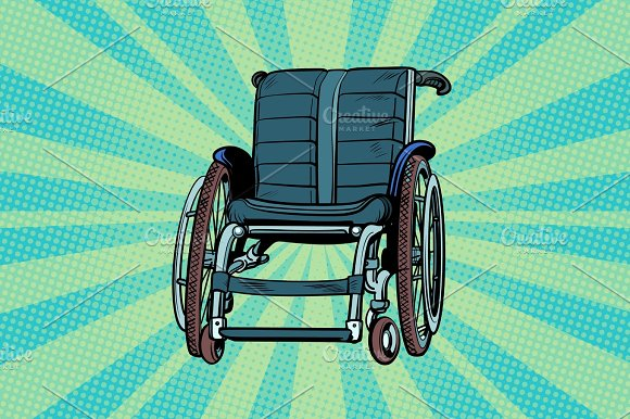 Wheelchair Medicine And Health Transportation Of Patients