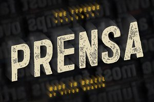 Prensa Typeface