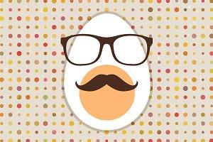 Hipster egg.