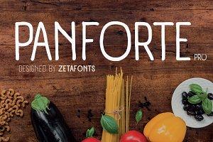 Panforte Pro - 7 fonts
