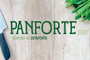 Panforte Serif - 6 fonts