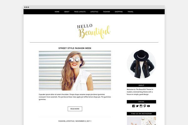 Wordpress Website Genesis Child The…