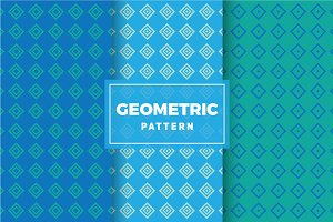 Geometric Vector Patterns #466