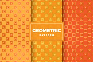 Geometric Vector Patterns #452