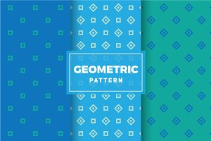 Geometric Vector Patterns #446