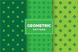 Geometric Vector Patterns #444