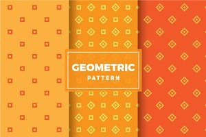 Geometric Vector Patterns #442