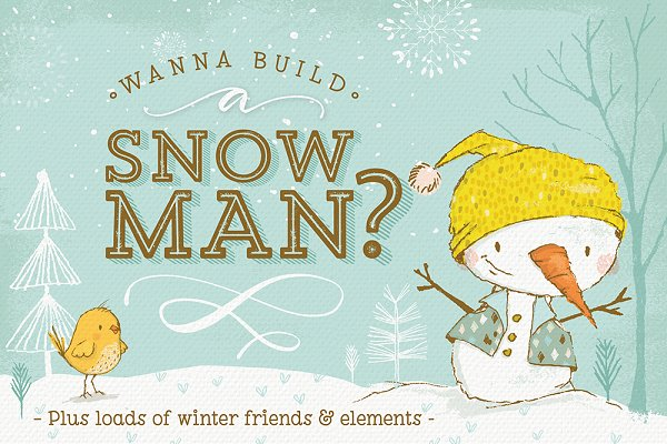 Build your own Snowman and more!