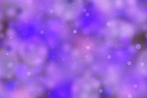 Bright purple magic light