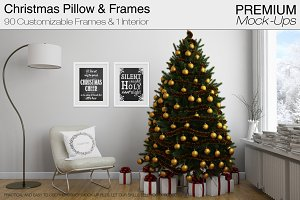 Christmas Pillow & Frames Pack