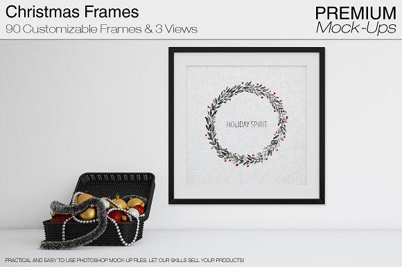 Christmas Frames Pack