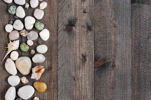 Wooden background (vertical)