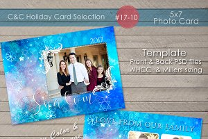Hanukkah/Shalom  Photo Card 17-10