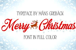 Merry Christmas Color