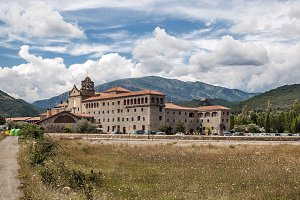 Sieste Abbey located in the Spanish