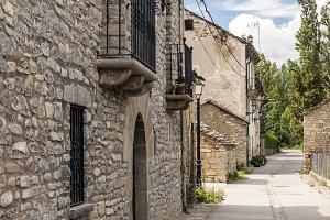 Street spanish village of sieste