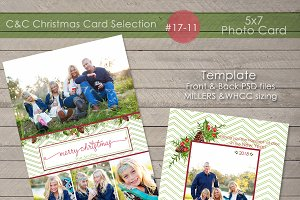 Christmas Photo Card Selection 17-11