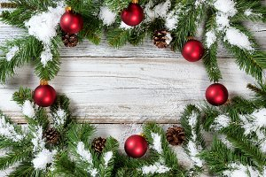 Circle Border of Christmas