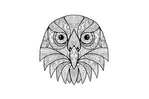 Australian Barking Owl Mandala